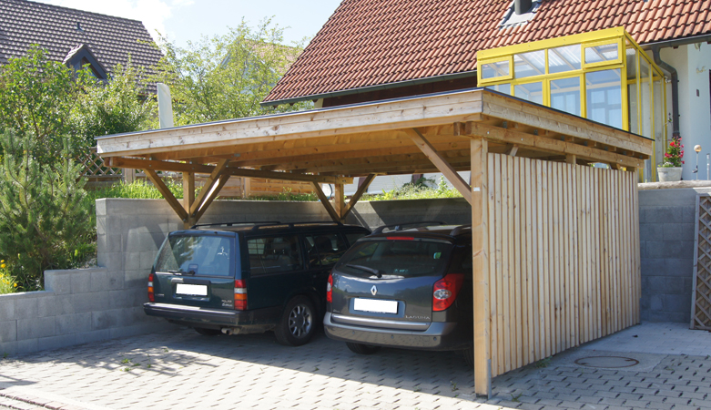 carport fahrzeugunterst nde pletscherholz pletscher. Black Bedroom Furniture Sets. Home Design Ideas