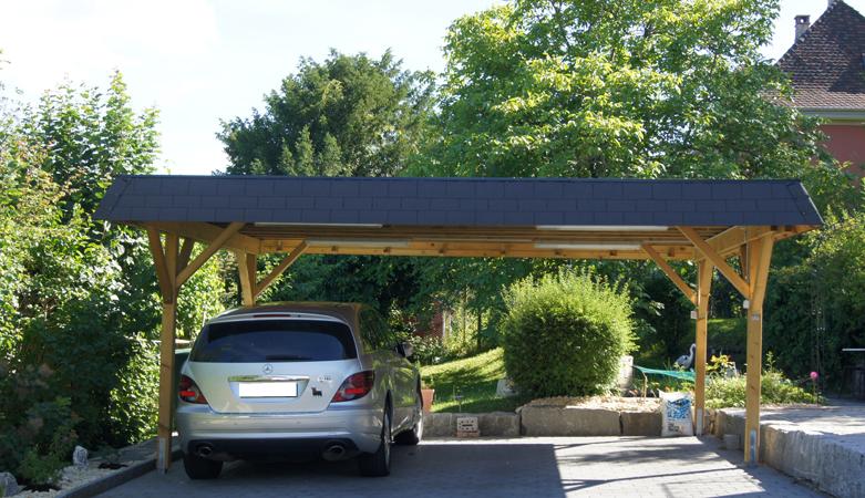 carport fahrzeugunterst nde pletscherholz pletscher. Black Bedroom Furniture Sets. Home Design Ideas