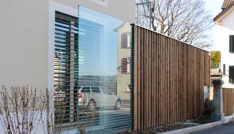 l rmschutzwand pletscherholz pletscher co ag. Black Bedroom Furniture Sets. Home Design Ideas