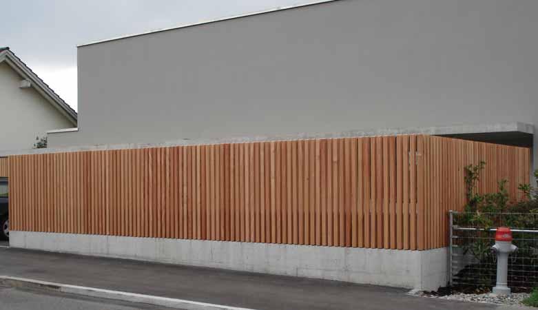 Sichtschutzwand Pletscherholz Pletscher Co Ag